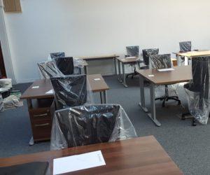 Carpet Fitting in an Office in Preston