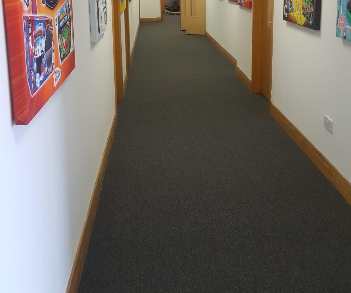 Carpet Fitting Project in Preston