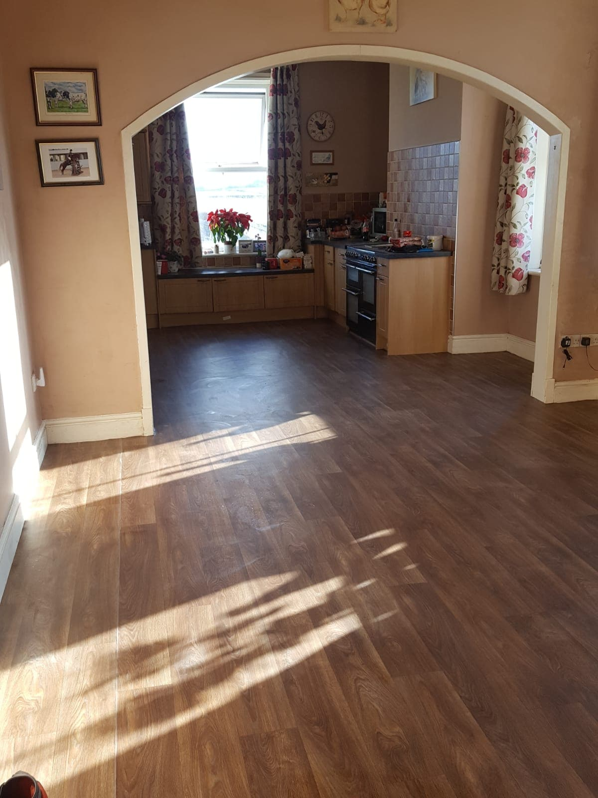 Laminate Flooring in a Manchester Apartment